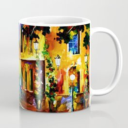 Tardis Art And The Light Street Coffee Mug
