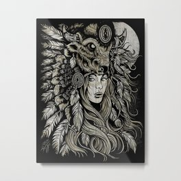 Spirit of the Buffalo Metal Print