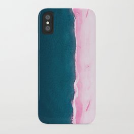 #sea #pink iPhone Case
