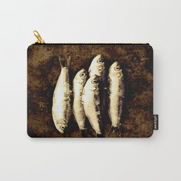 poissons-fishes Carry-All Pouch