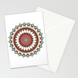 Coca Cola inspired pattern dot Stationery Cards