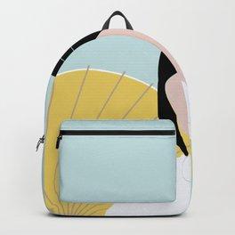 Wagasa and kimono Backpack