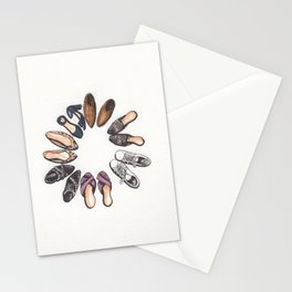 Shoe Circle Stationery Cards