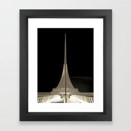 C A L A T R A V A | architect | Milwaukee Framed Art Print