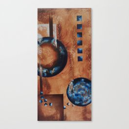 Tale of Two Moons Canvas Print
