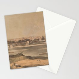 Vintage Pictorial View of Richmond VA (1853) Stationery Cards
