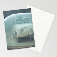 bubble car Stationery Cards