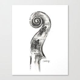 Scroll Canvas Print