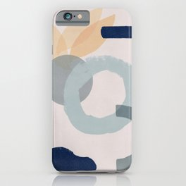 Minimal dreamy artwork iPhone Case