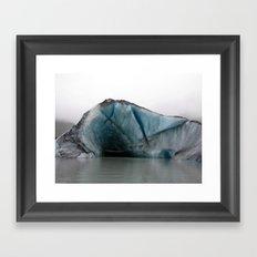 Valdez Glacier Framed Art Print
