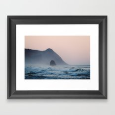 Pacific Coast Paradise Framed Art Print