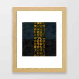golden winter times Framed Art Print