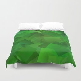 Cubed grass ... Duvet Cover