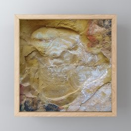 In the Cave of Mysteries Framed Mini Art Print