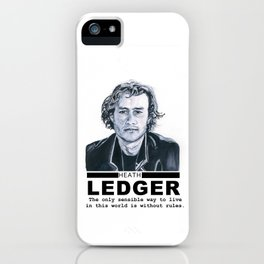 Heath Ledger iPhone Case