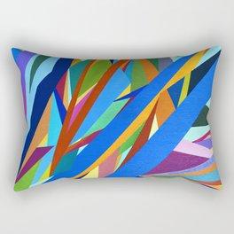 Blue River I Rectangular Pillow