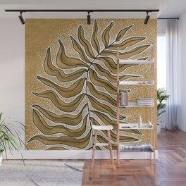 Meditation Leaf Wall Mural