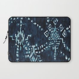 SATELLITE TRIBAL - INDIGO Laptop Sleeve