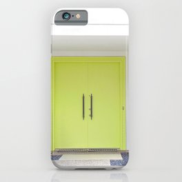 Lime Door Palm Springs iPhone Case