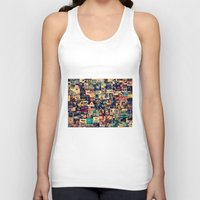 movies Tank Tops featuring I Like Movies by ezop
