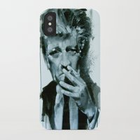 lynch iPhone & iPod Cases featuring David Lynch by Marco Draisci