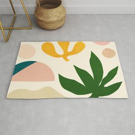 Abstraction_Floral_001 Rug