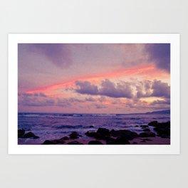 Ocean in my dreams 1 Art Print