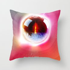 Lord of the Rings. The Eye of Sauron. What Frodo Saw. Throw Pillow