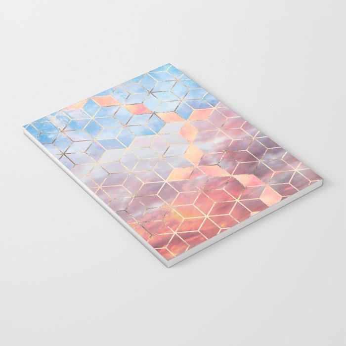 Magic Sky Cubes Notebook