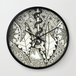 The Snake Wall Clock