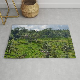 Bali Rice Fields Rug