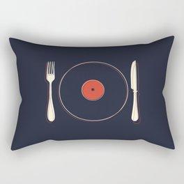 Vinyl Food Rectangular Pillow
