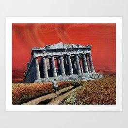 Pillars of the Prophecy Art Print