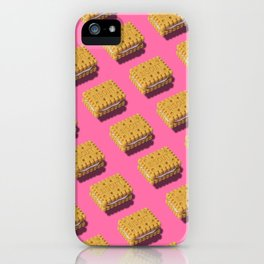 Biscuits pattern iPhone Case
