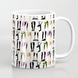 Circle jerk - fluro orgy mix Coffee Mug