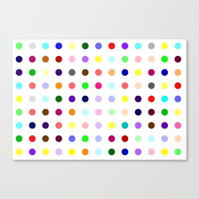 Demozepam Canvas Print
