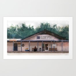 Coushatta Post Office - Better Call Saul Art Print