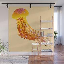 Autumn Jellyfish Wall Mural
