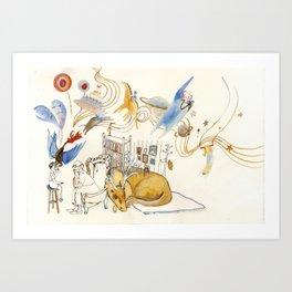 The Dream Capture Art Print