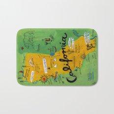 Postcard from California Bath Mat