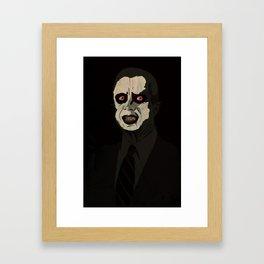 Jimmy Pazuzu Carter Framed Art Print