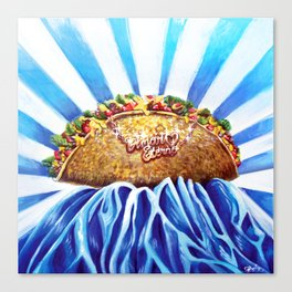 Taco Love Forever Canvas Print