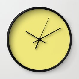 Limelight - Fashion Color Trend Fall/Winter 2018 Wall Clock