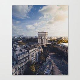 Arc De Triomphe, Paris Canvas Print