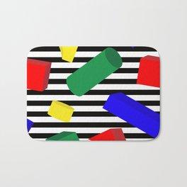 Primary Blocks Bath Mat