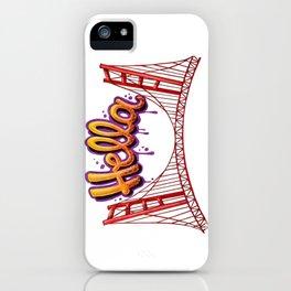 Hella - SF iPhone Case