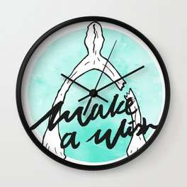 Make a Wishbone Wall Clock