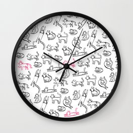 Even more cats! Wall Clock