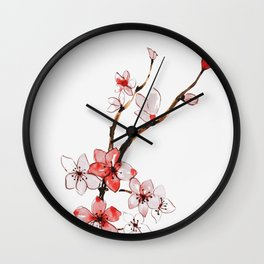 Cherry blossom 2 Wall Clock