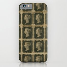Penny Black Postage iPhone Case
